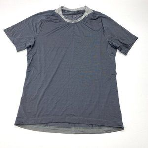 Lululemon Striped Athletic Tee T-Shirt